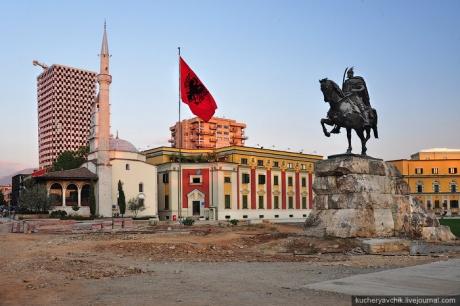 Столица Албании - Тирана