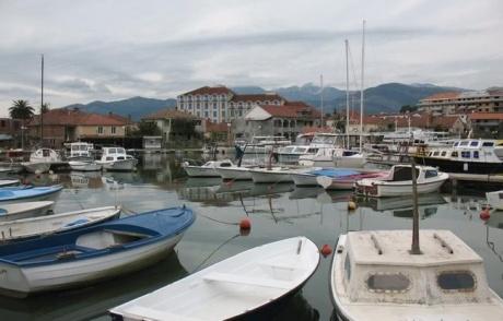 Черногория. Зимний Тиват
