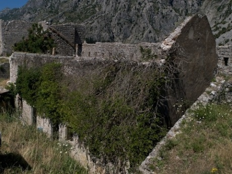 Котор, Черногория. Лестница в небо