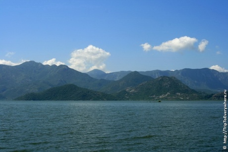Скадарское Озеро и Вирпазар. На машине по Черногории.