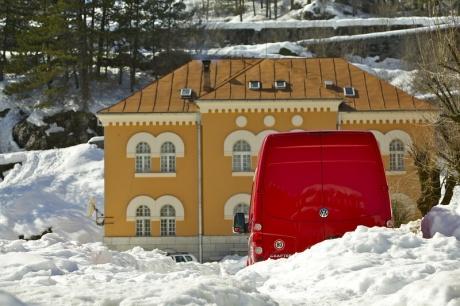 Черногория. Зимой