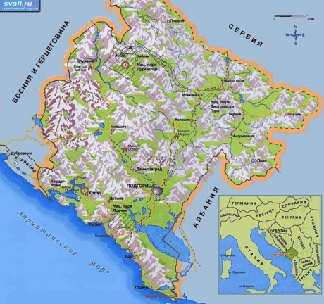 Dobar dan, Crna Gora! Часть 1. Будва и Будванская ривьера.