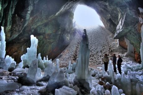 Дойти до Ледяной Пещеры