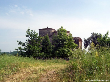 Монастырь в Месопотаме. Албания.