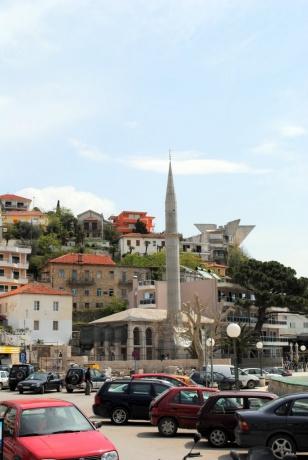 Города Черногории. Улцинь