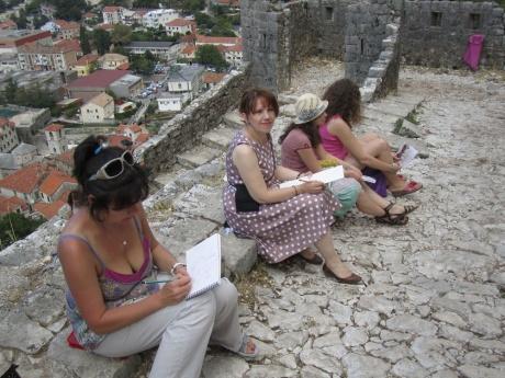 Долгожданный отчет о первом арт-туре в Черногорию!