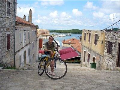 На велосипеде по Истрии