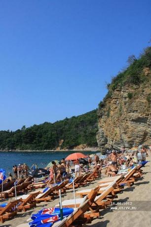 Будва и Черногория с июля по середину августа 2012