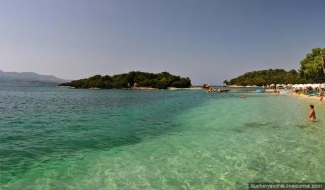 О пляжах Албании
