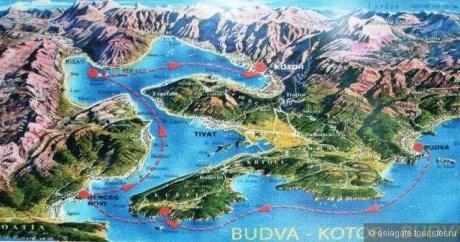 Бока Которска – «самый южный фьорд Европы»