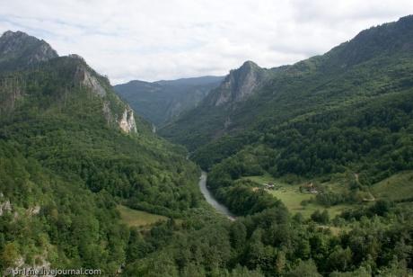 Горы, реки и озера Черногории (часть 1)
