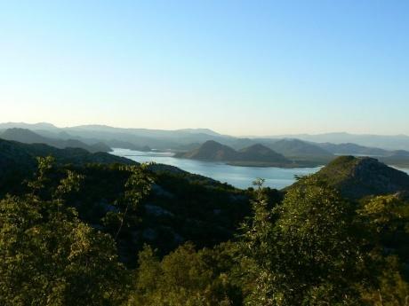 Черногория : Скадарское озеро, Ульцинь, северо-запад