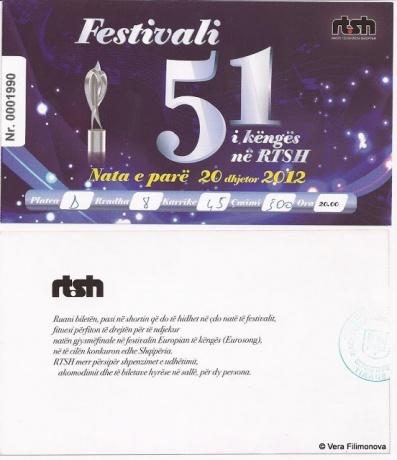 51-й фестиваль песни в Албании (Festivali i Këngës 51)
