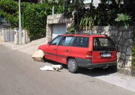 На автомобиле – парковки, заправки