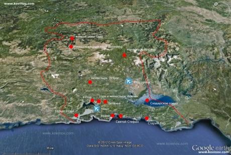 Мультиспортивное путешествие по Черногории. Часть 3.