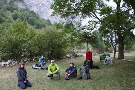 Отчет о походе по Черногории