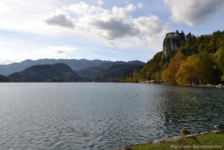 Словения. Озеро Блед.