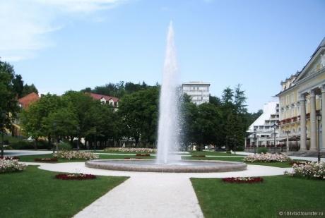 Курортное место Рогашка Слатина