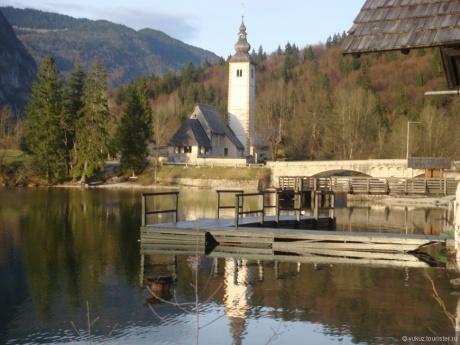 Открыточные пейзажи словенских озер