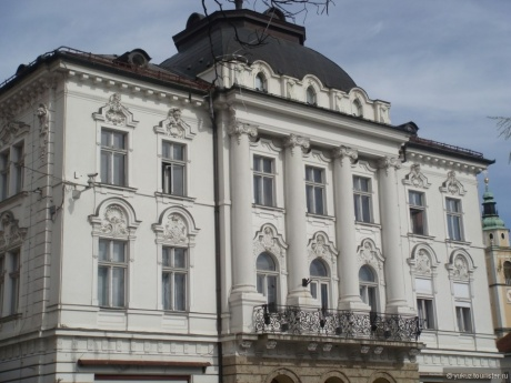 Пара часов в Любляне