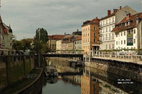 Моя Словения: Любляна-Блед-Бохинь