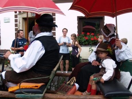 Этническая свадьба в Словении