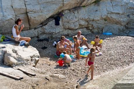 Отдых с детьми в Хорватии часть 7