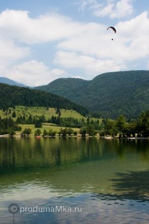 Кладезь Словении. Озеро Бохинь.