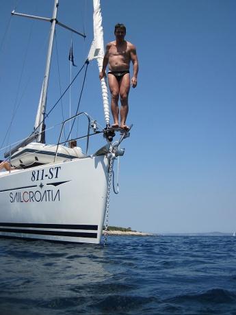 Галстучное ожерелье. Катание на канатах. Яхтинг в Хорватии