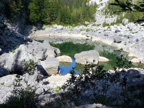 Словения - Хорватия без городов. К Чёрному озеру.