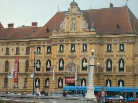 Загреб. Хорватия