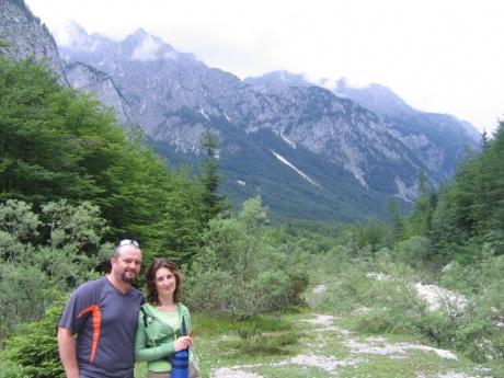 День шестой: Водопад Перичник, Триглавская северная стена, каяки на