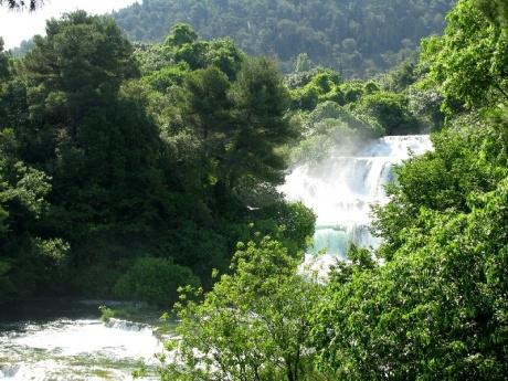 Хорватия: парк Крка