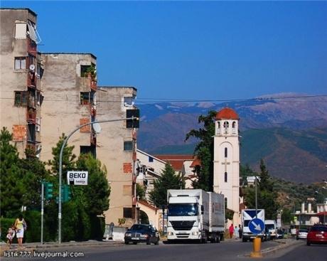 Албания на авто