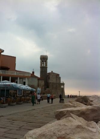 Пиран - город между морем и солнцем