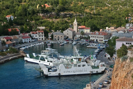 Хорватия, заметки отдыхающего: Jablanac