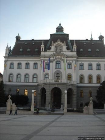 Красивые места словенской столицы