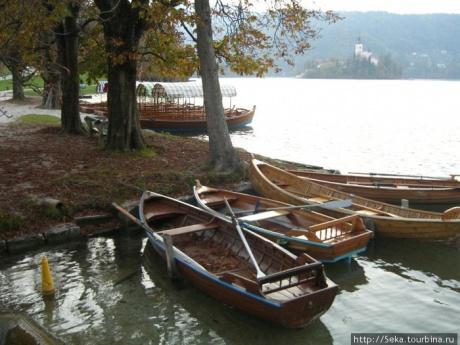 Вокруг озера... Или вечер на озере Блед
