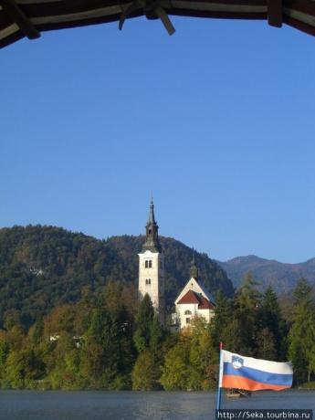 Прекрасная достопримечательность Словении