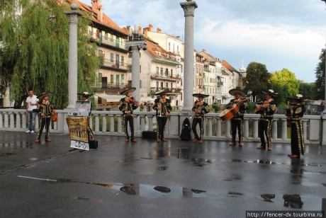 Мосты словенской столицы