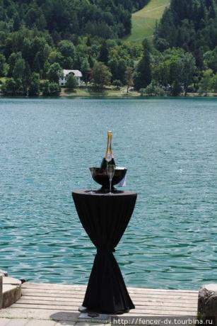 Блед: рай на озере