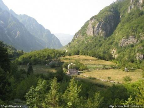Романтика Албанских Альп