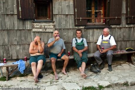 Благословенная Словения. Подъем на Трехглав. Продолжение.