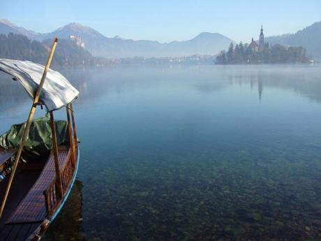 Красивое озеро с красивым названием - Бледское :)
