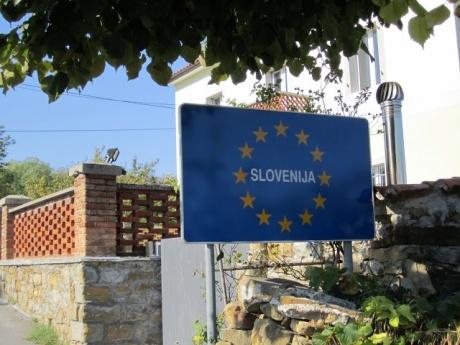 Вот так у нас хранится словенская граница...