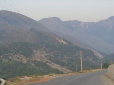 Дорога  в Саранду