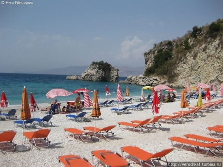 Самые красивые пляжи в Албании. Борщ и Пасчура