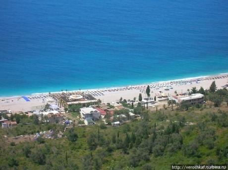 Самые красивые пляжи в Албании. Дхерми и Ливад