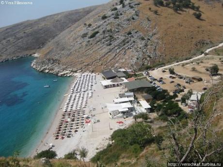 Самые красивые пляжи в Албании. Лламан и Ял