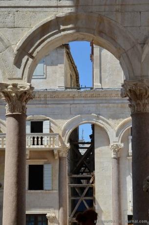 Город Сплит (Split, Spalato, Salonae Palatium)